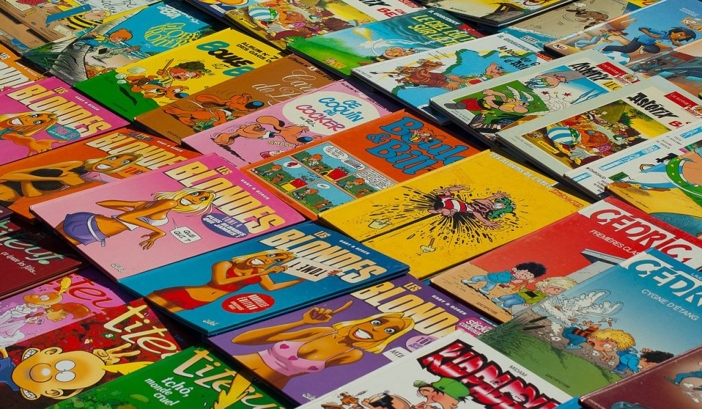 essay about comics